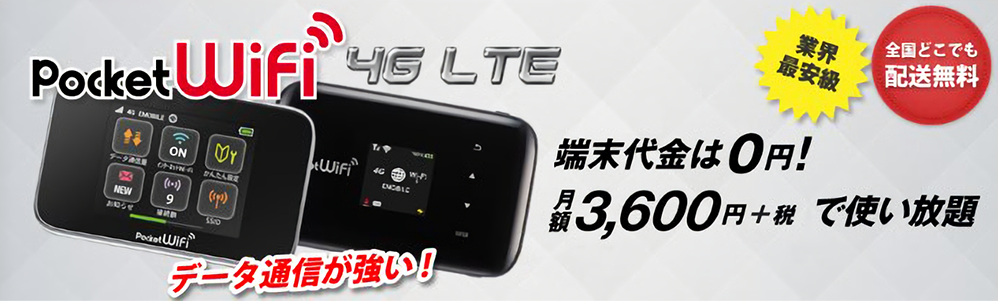 Pocket Wifi 4G LTE